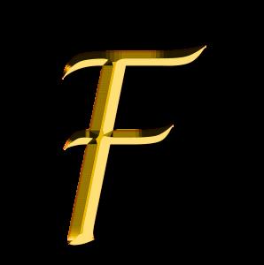 アルファベット, F