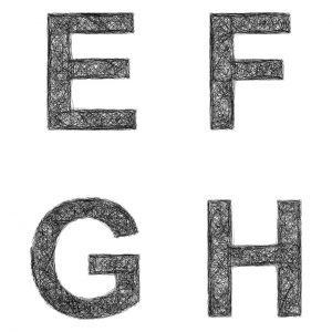 F アルファベット