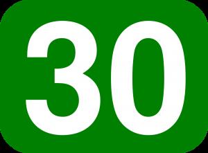 30 number