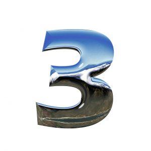 Number, 3