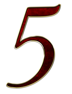5 number
