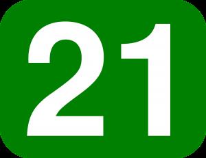 21 number