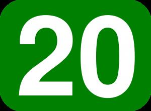 20 number