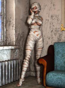 女性 包帯