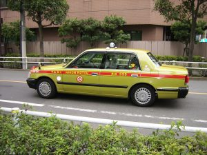 タクシー 日本