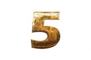 Number, 5