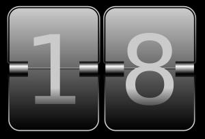 18, 数字