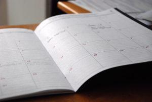 カレンダー 手帳