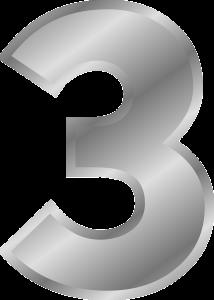 3, 数字