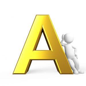 A, アルファベット
