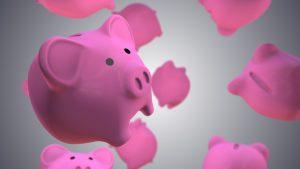 ピンク お金