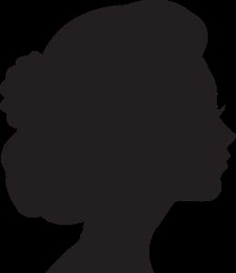 女性 シルエット