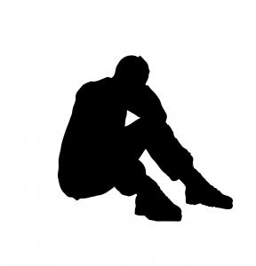 男性 絶望